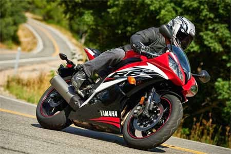 foto Yamaha R6 Red Color 2015