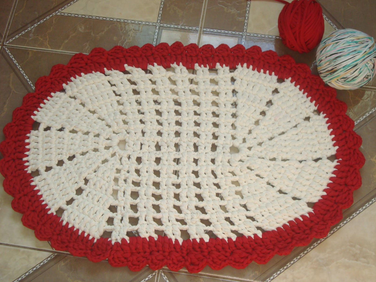 Artesanato: tapete de tear de madeira - craft: mat wooden loom - artesan0eda: mat telar de madera