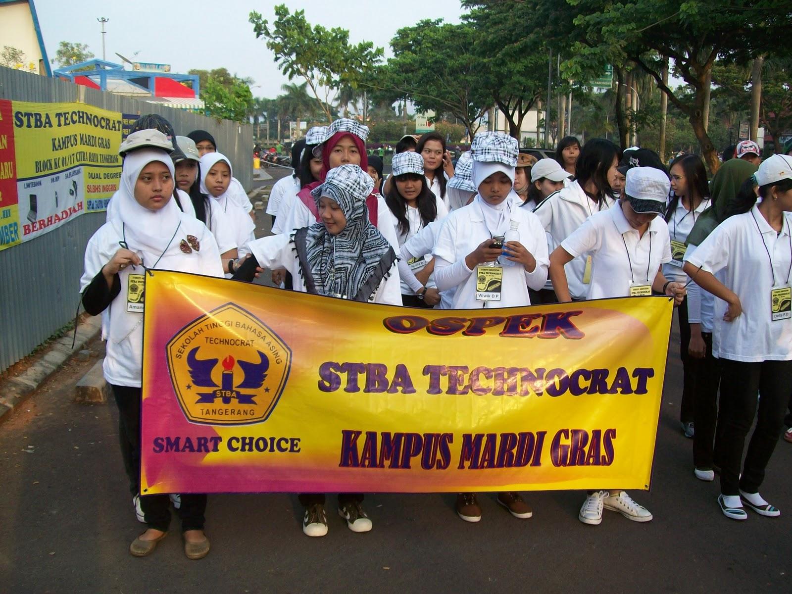 Kegiatan Kampus Stba Technocrat Kampus Mardi Gras