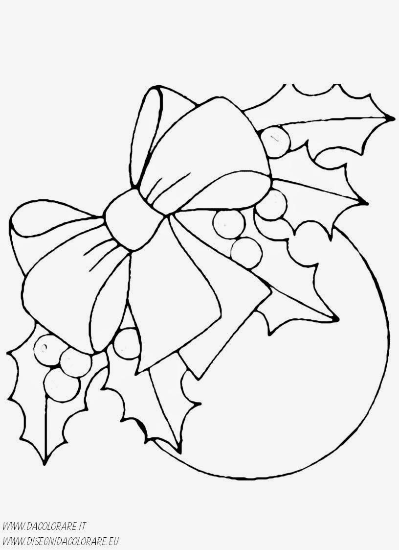 Disegni natalizi da colorare for Disegni per la casa degli artigiani