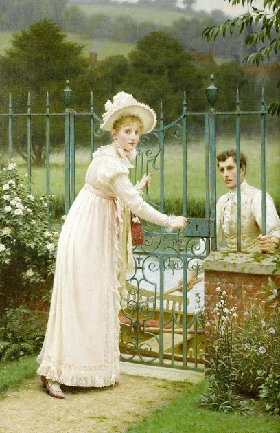 where there is a will,Edmund Blair Leighton,genre painting