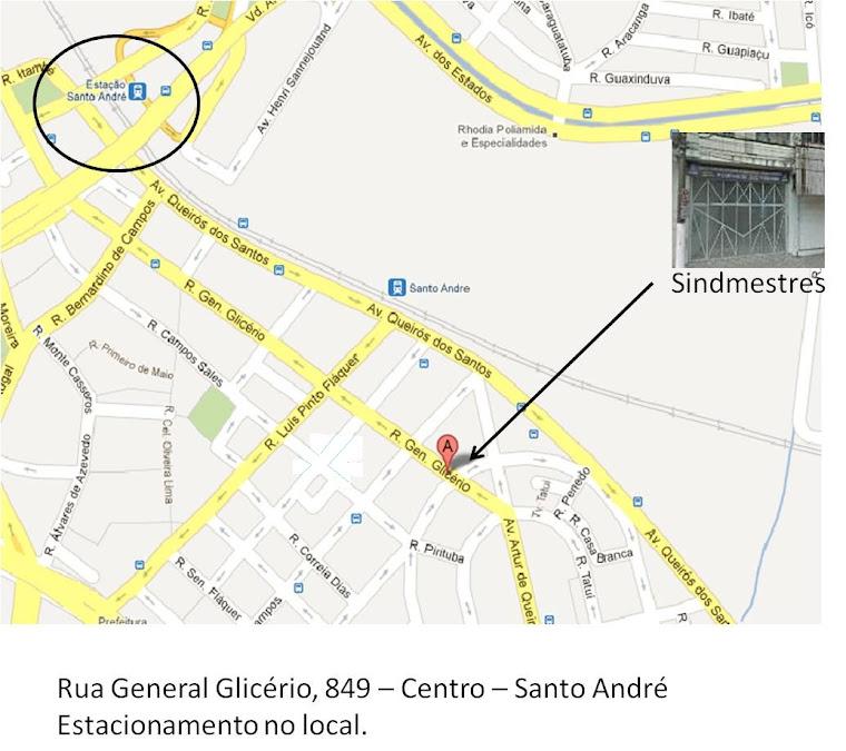 Localização do consultório
