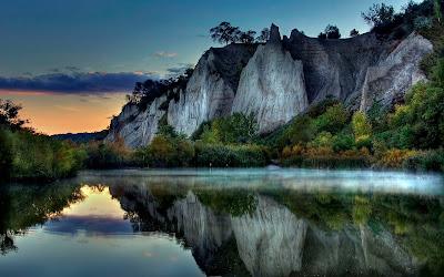 Free Hd Nature Mountain River Wallpaper