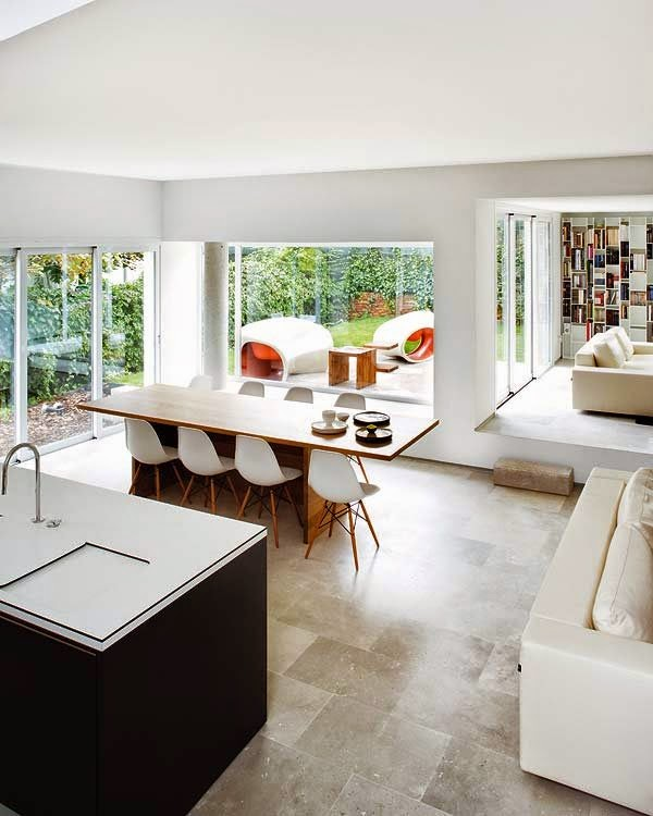 10 cocinas con vistas al jard n guia de jardin for Vistas de cocinas