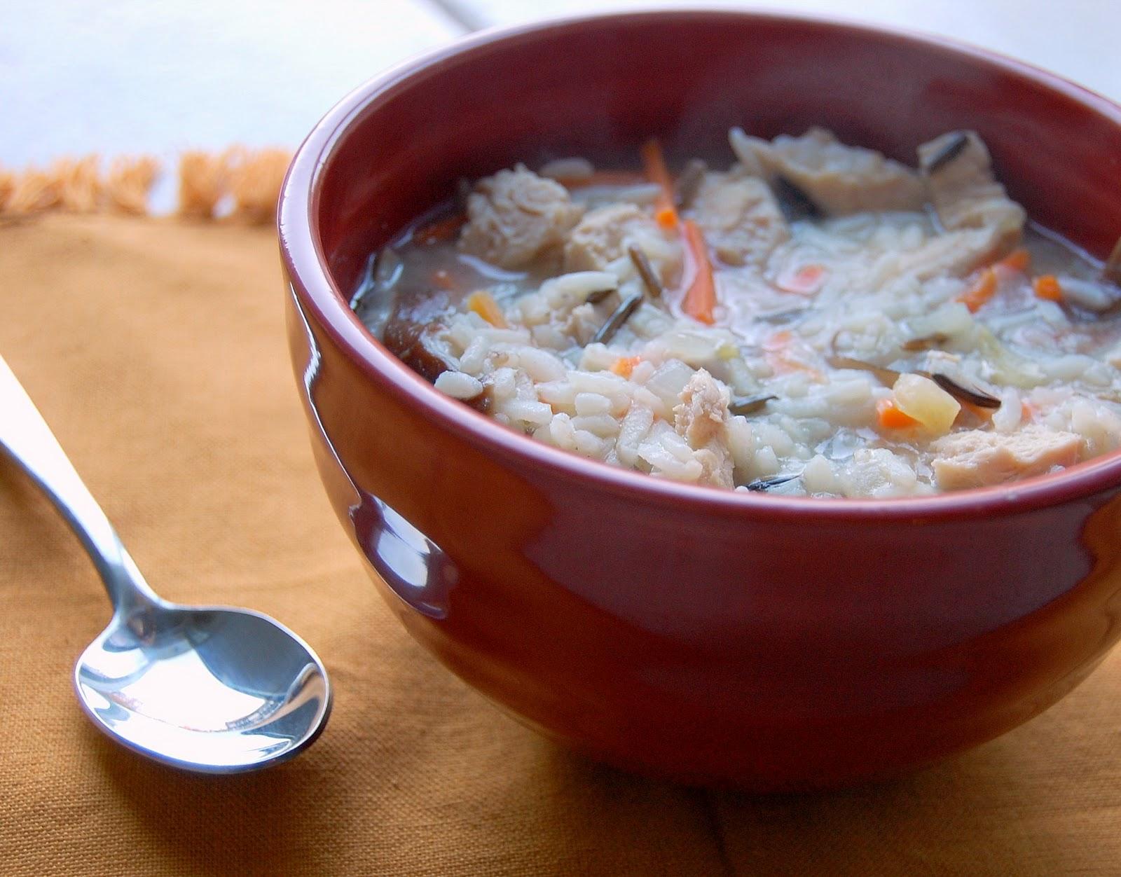 Chicken Shiitake And Wild Rice Soup Recipes — Dishmaps