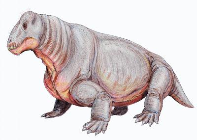 therapsida Ulemosaurus