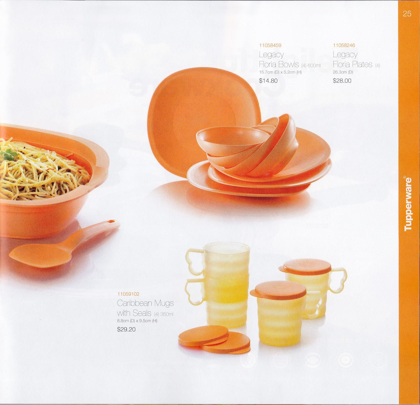 Buy Tupperware in Singapore: Dining Elegance