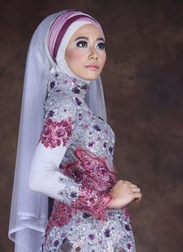 trendbajumuslim.com kebaya muslim akad nikah terbaru 2015/2016