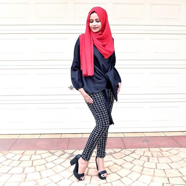 40 Gambar Desain Baju Muslim Remaja Paling Modis