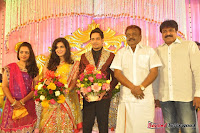 Celebraties at Actor Bharat n Jessy Wedding Reception Photos+%252857%2529 Actor Bharath n Jessy Wedding Photos