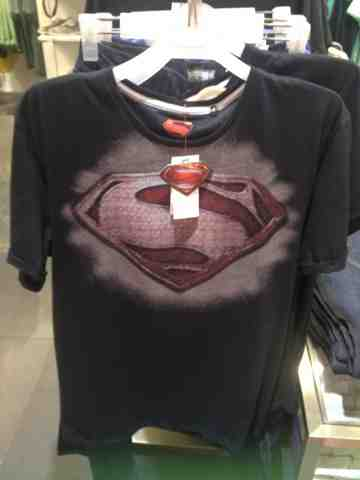 The Budget Fashion Seeker - Man of Steel Shirt
