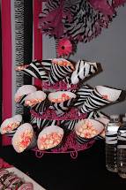 Hot Pink and Zebra Print Birthday Party