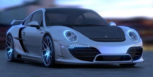 Porsche 911/991 Attack by Anibal Automotive Design gassguzzler