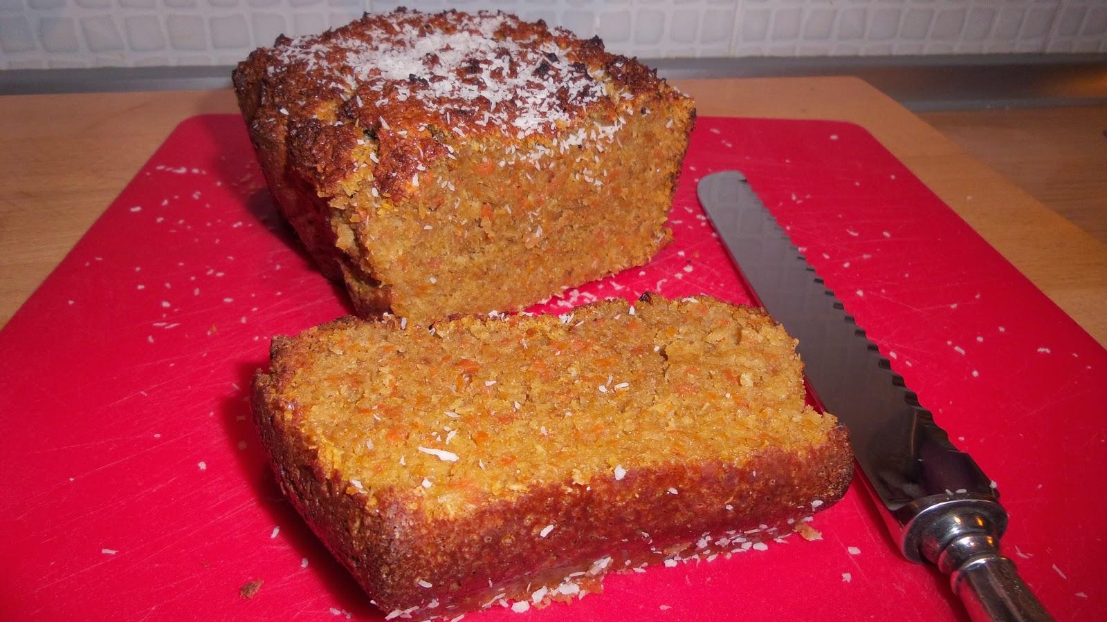 plumcake cocco e carote ( senza olio e senza burro)