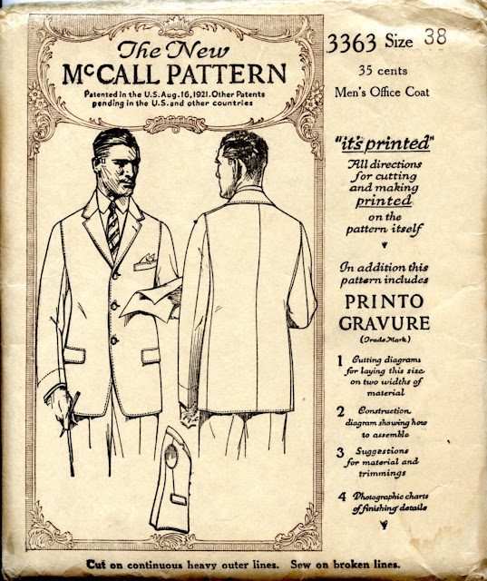 Sewing Patterns For Men