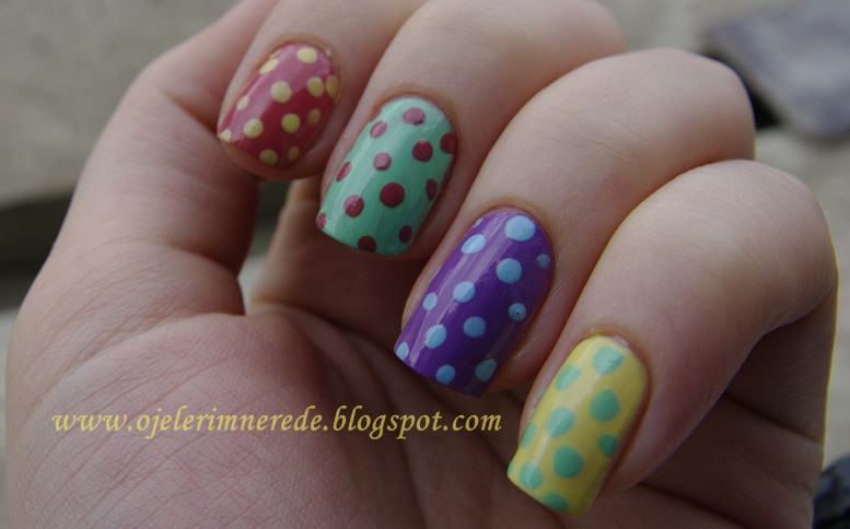 Baş parmak flormar 423 işaret parmak gabrini 40 orta parmak