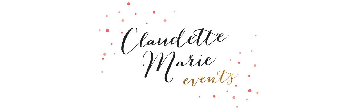 Claudette Marie Events Blog