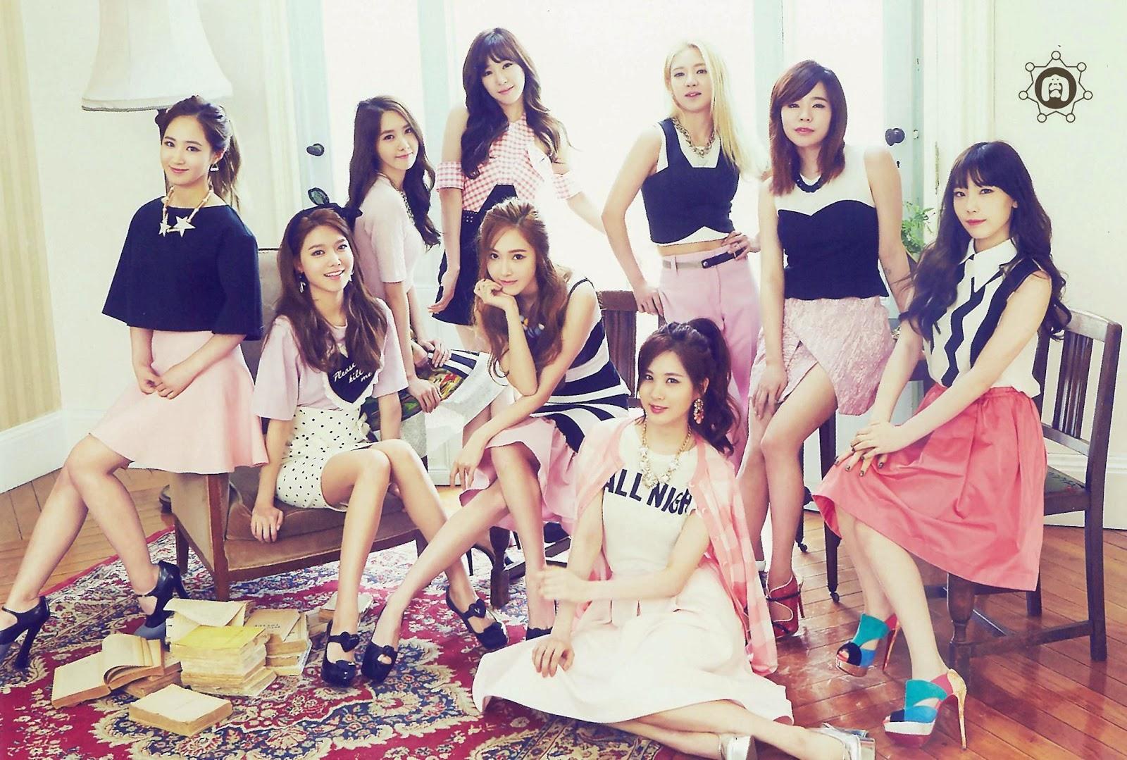 SNSD Girls Generation The Best Scan Wallpaper HD 3