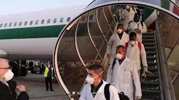 """Έφθασε η """"Μπριγάδα των Γιατρών της Κούβας"""" στη Λομβαρδία, όπου ο θάνατος θερίζει τον ιταλικό λαό..."""
