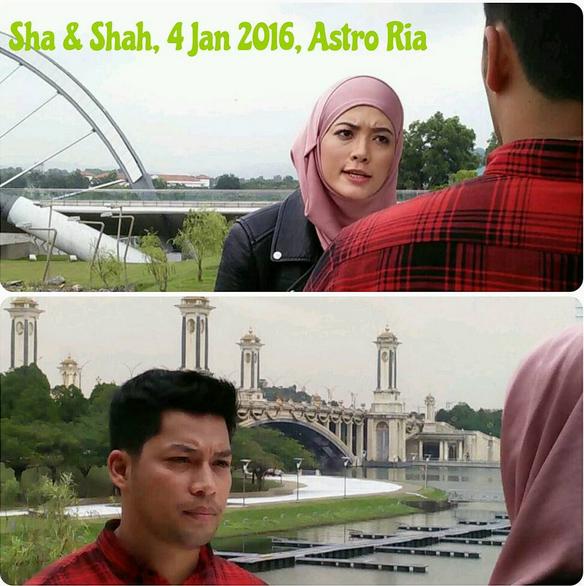 Pelakon Drama Sha dan Shah