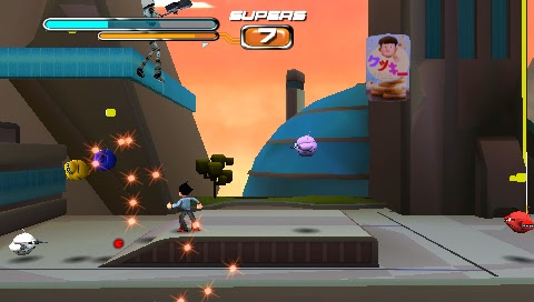 Astro Boy: The Video Game PSP ISO Screenshoot 1