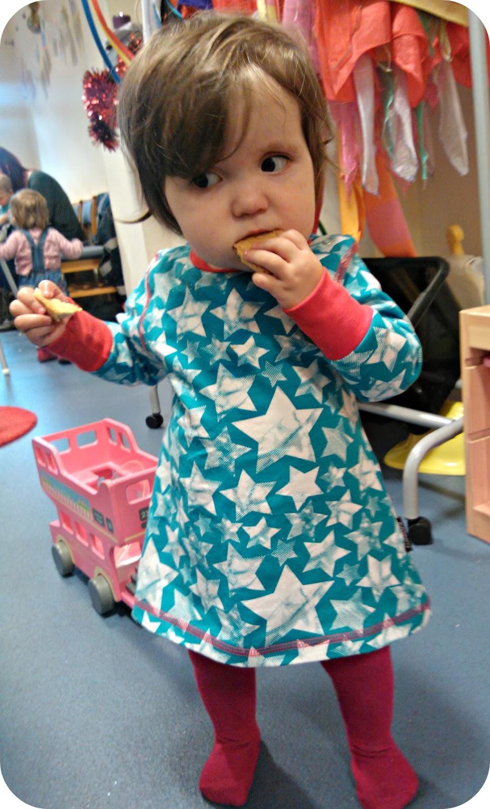 My funny, feisty sixteen month old Little Miss floppy larynx laryngomalacia