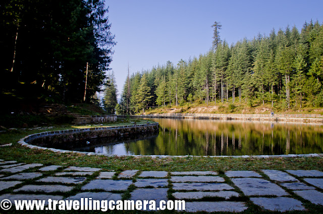 Here is a photograph of Tani Jubber Lake which is near Thanedar and Narkanda.... It's not a very popular tourist destination but a wonderful place to spend some time while roaming around Shimla or going towards Kinnaur... Since it's not popular, it's very well maintained and clean :) ...