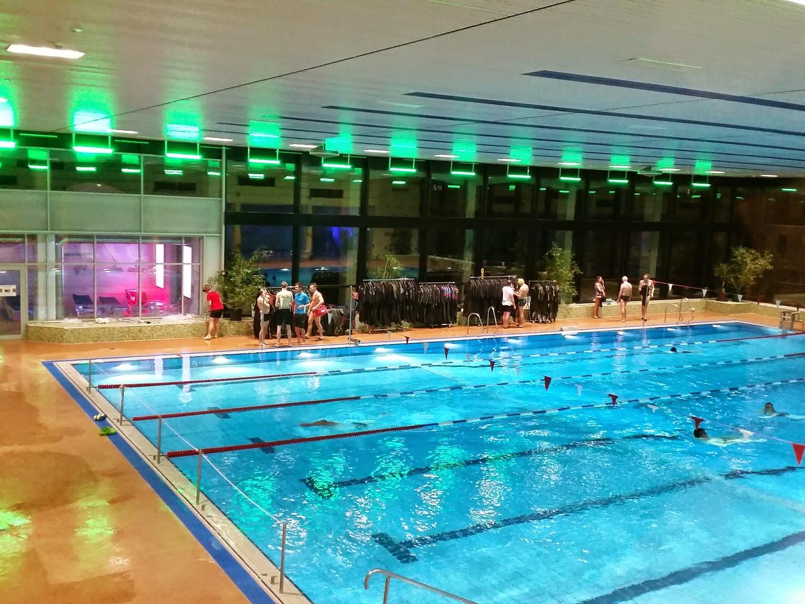 triathlon.de Neo Testschwimmen, Friedberg 27.02.2015 - gegen Ende der Veranstaltung