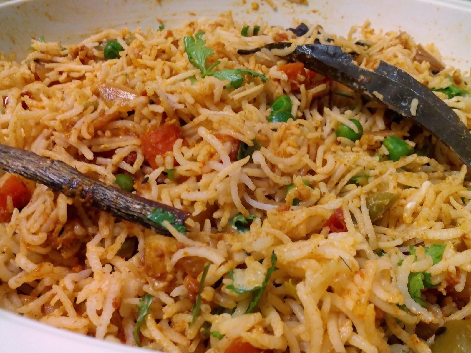 Vegetable Biryani | Swaadhmantra - Pamper your taste buds...!