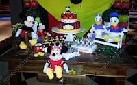 festa tematica mickey mouse