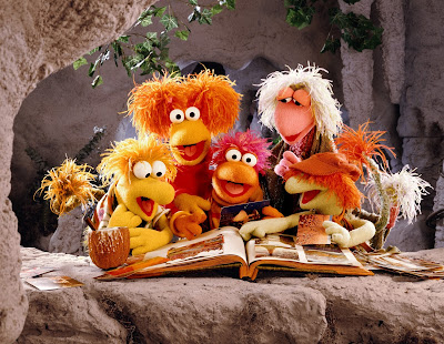 """Fraggle Rock"" Four seasons, 96 episodes"