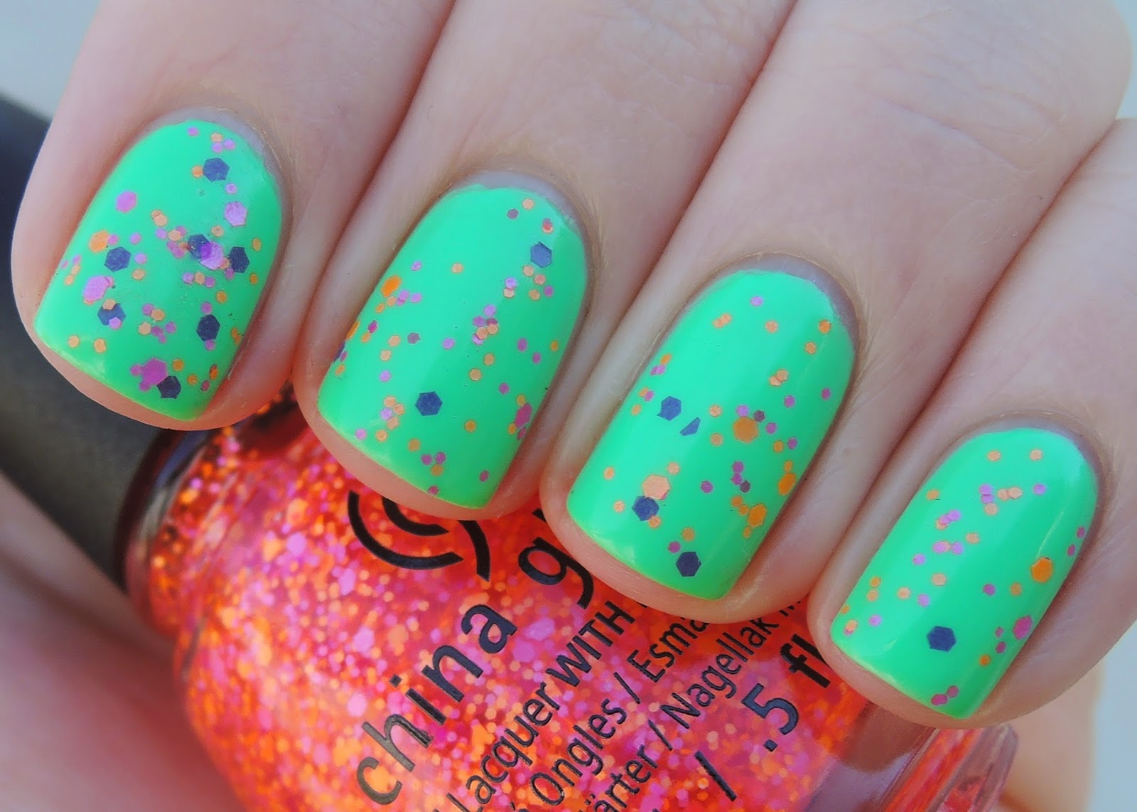 china glaze let the beat drop treble maker swatch