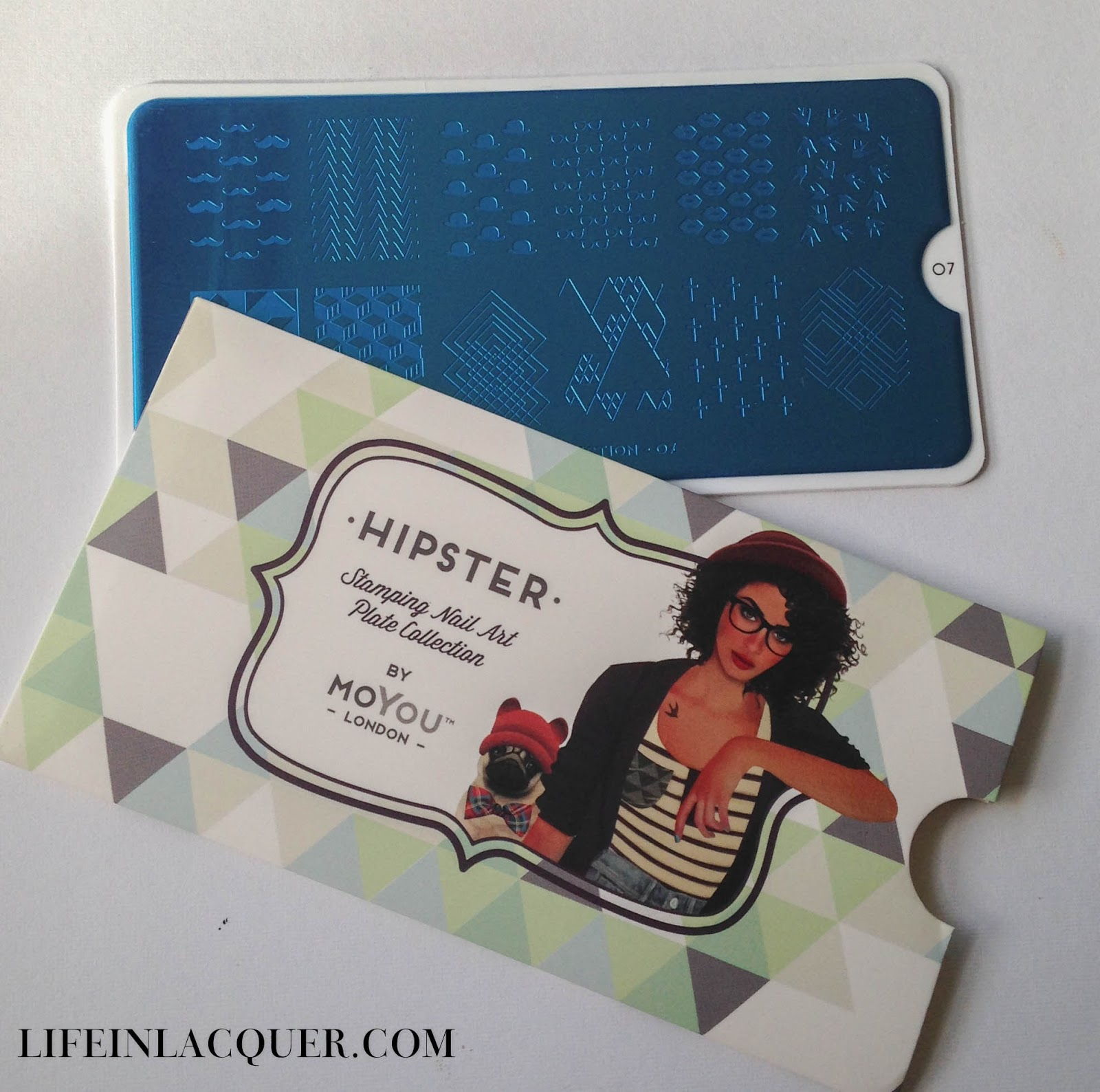 MoYou London Stamping plate Hipster collection 07