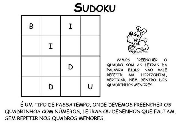 alfabeto de brincadeiras com turma da monica