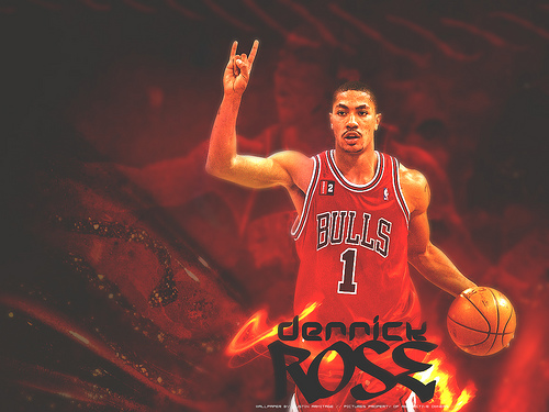 Derrick Rose Basketball Player Biography And Wallpapers Images 2011