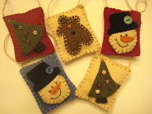 Wool Ornaments Free Pattern