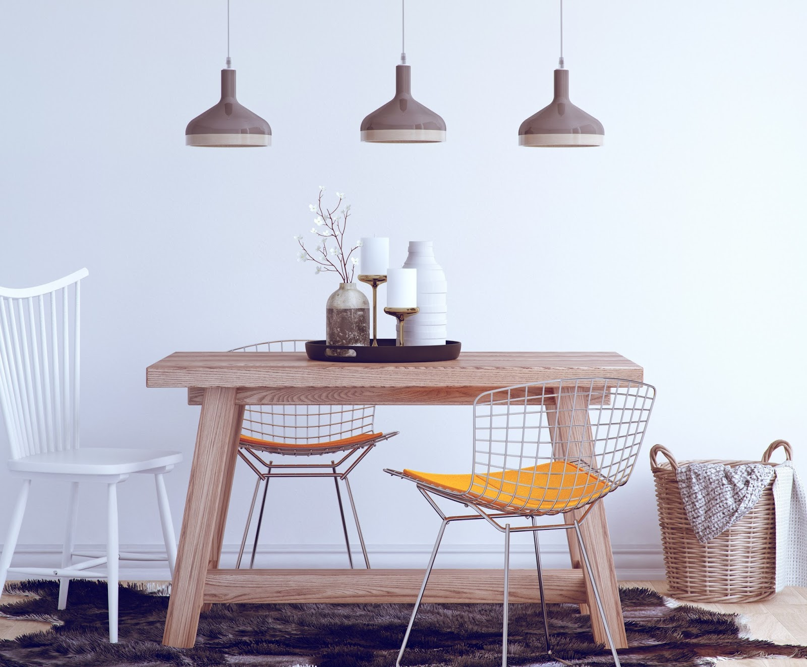 The ultimatum lighting guide how to choose lamps for your for Dining room 3 pendant lights