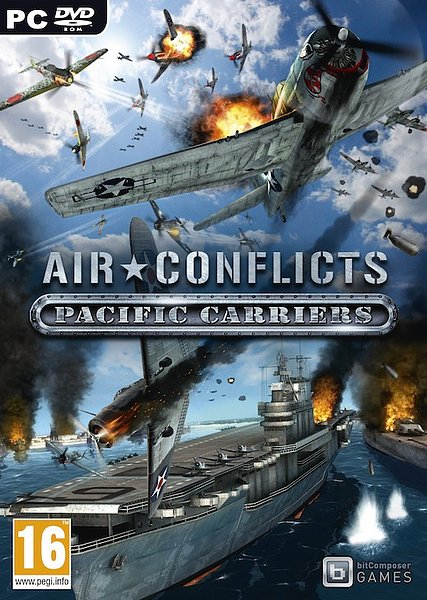 Air Conflicts: Pacific Carriers PC Game (Español) (Full) (2012)