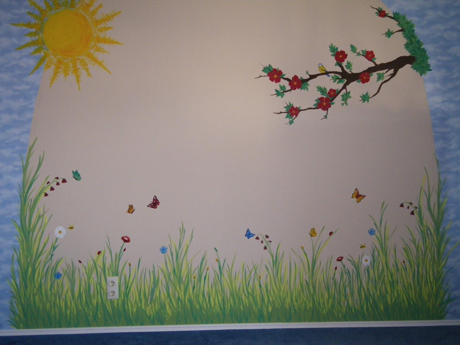 Wiese Malen Wand ~ Die neuesten Innenarchitekturideen