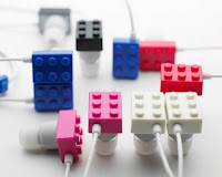 Elecom Sundries Playbrick Lego Earphones