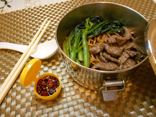 Chinese Broccoli Beef Noodle Stir Fry Recipe — Dishmaps