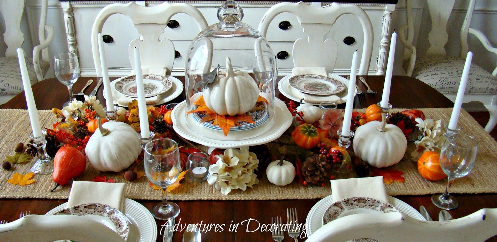 Adventures In Decorating Fall Dining Room