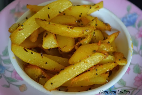 Fried Potato Dry