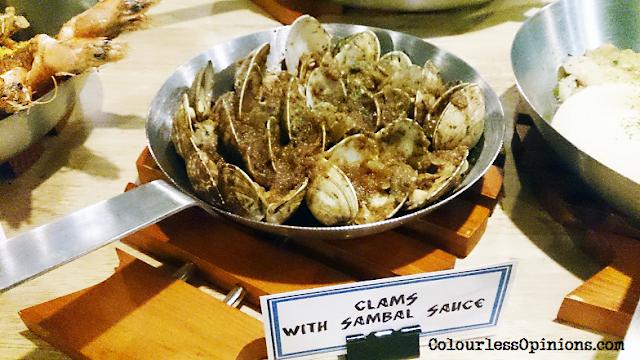 Fish & Co Malaysia Clams with Sambal Sauce