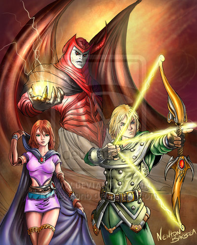 Dungeons and Dragons por newtonb