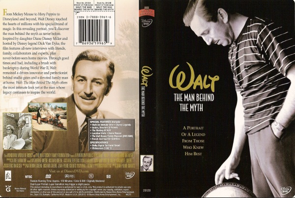 walt disney the man behind the