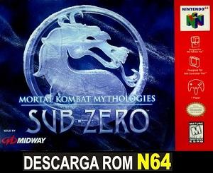 Mortal Kombat Mythologies - Sub Zero 64 n64