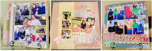 MightyCrafty.me - May 2012 Paper Layouts