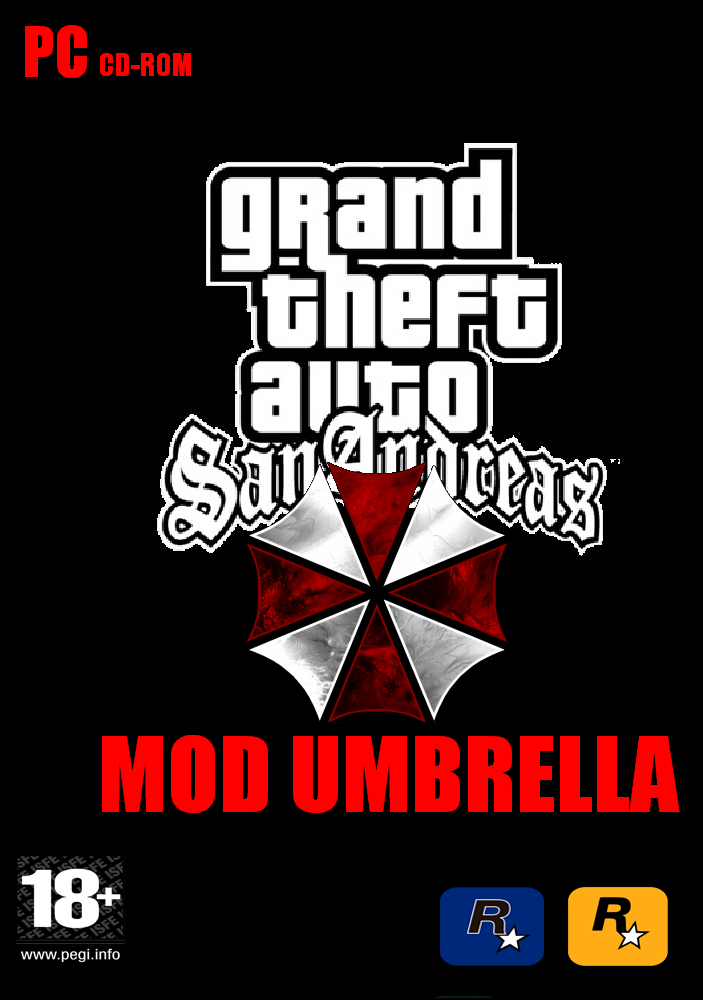 Grand Theft Auto San Andreas MOD UMBRELLA