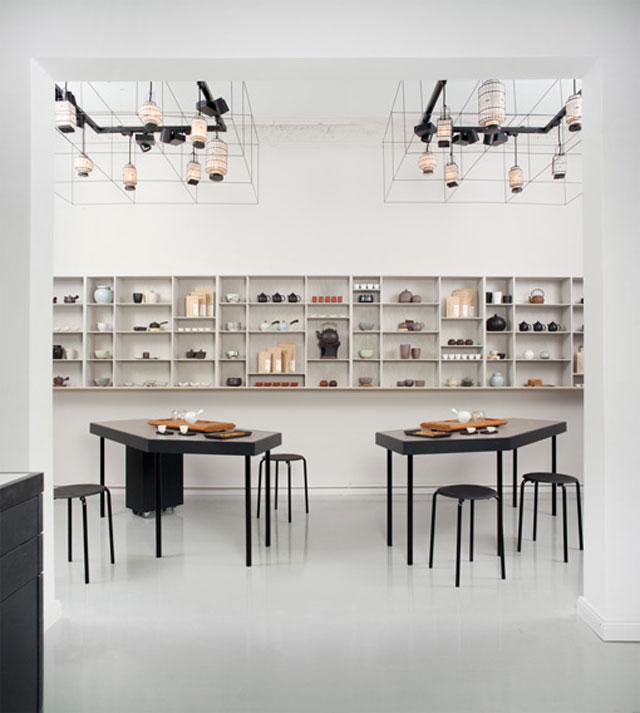 beautiful object paper tea. Black Bedroom Furniture Sets. Home Design Ideas